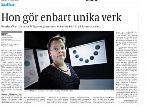 Vasabladet 24.8.2013